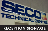 CLICK HERE FOR RECEPTION SIGNAGE